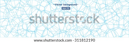 Abstract water texture - stock vector