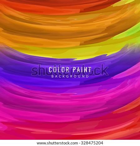 Abstract watercolor backgroun vector  - stock vector