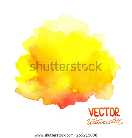 Abstract watercolor background. Can be used for business cards, banners, presentations, greeting cards etc. Eps 8 vector.