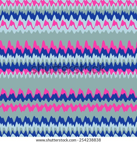 Abstract waves background. Seamless pattern. - stock vector