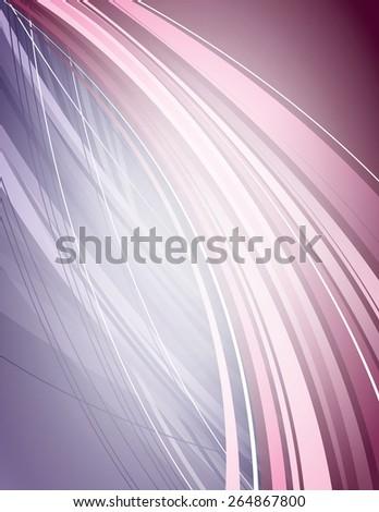 Abstract wavy background. Vector. - stock vector