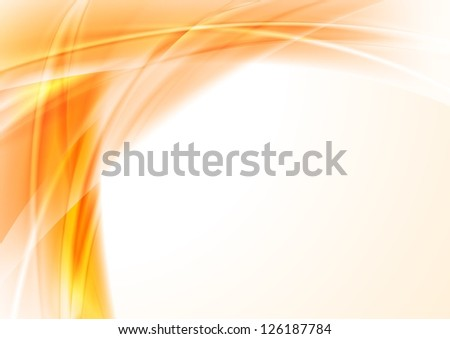 Abstract wavy background. Vector design eps 10 - stock vector