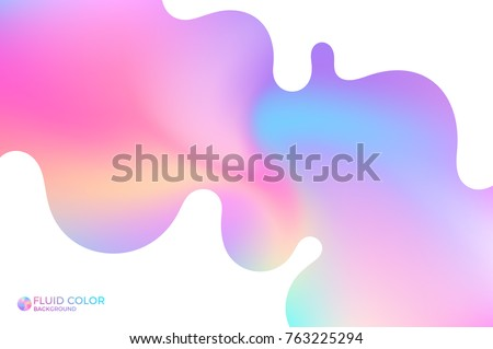 Abstract wavy background. Vibrant color. Ultra violet