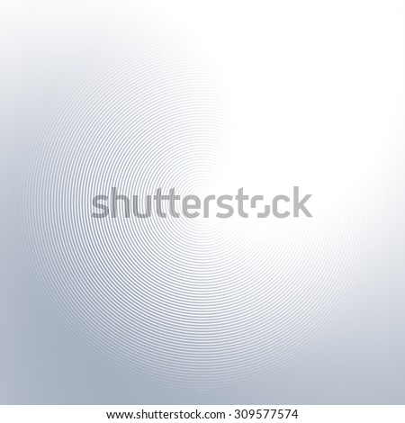 Abstract wavy lines background with shiny grey tones - stock vector