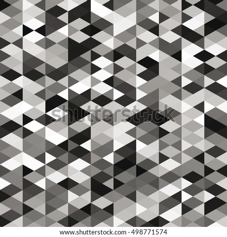 Abstract web black and white vector background. Geometric simple print. Vector repeating texture.
