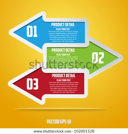 Abstract web design. vector - stock vector
