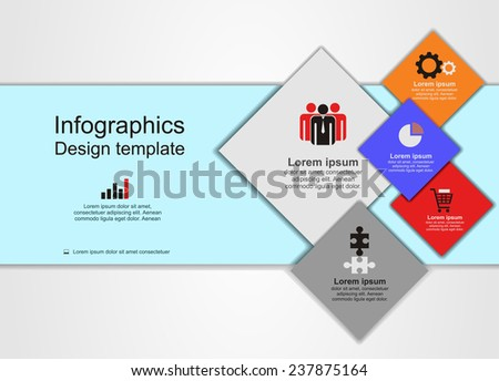 Abstract web design. Vector illustration Eps 8.