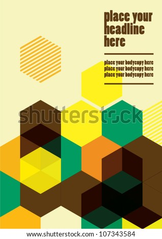 Abstract web design/vector/wallpaper background/book cover - stock vector