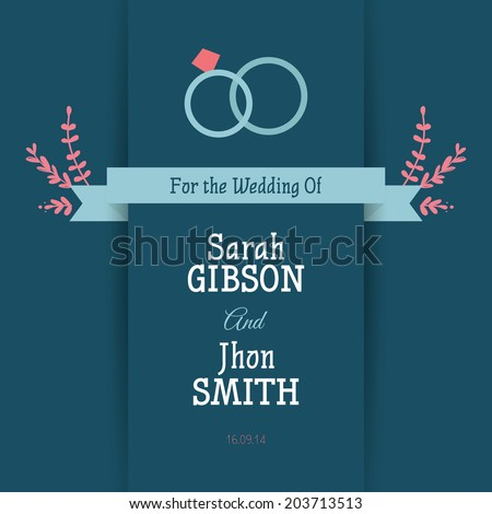 abstract wedding background with some special objects