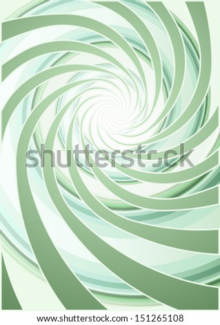 Abstract whirlpool background (no mesh)  - stock vector