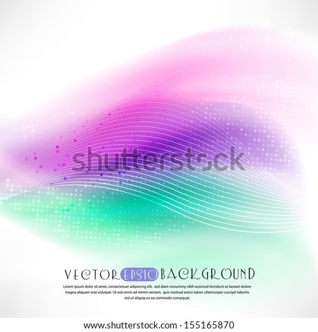 Abstract white background.The illustration contains transparency and effects. EPS10