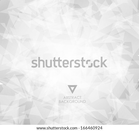 abstract white bright background/ vector - stock vector