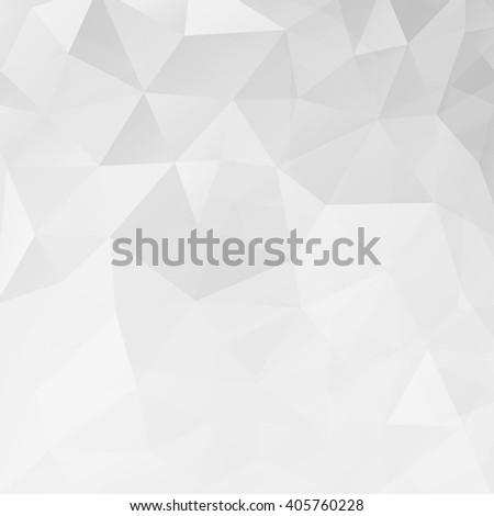 Abstract white geometric triangle background. Vector illustration for modern design. Light colors. Aqua water ice crystal. Bright poster. Decorative graphic mosaic texture. Retro wallpaper. - stock vector