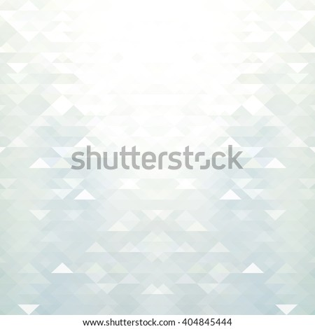 Abstract white & grey geometric background - stock vector