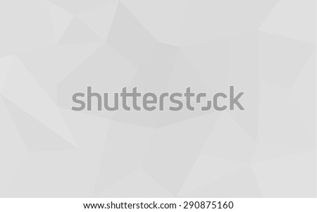 Abstract white triangle 3D geometric paper background - stock vector