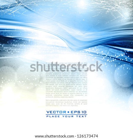 Abstract winter retro background. Vector