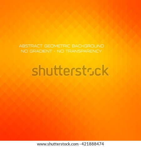 Abstract yellow gradient art geometric background with soft color tone. Ideal for artistic concept works, cover designs. - stock vector