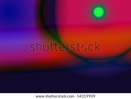 Abstraction vector illustration - stock vector