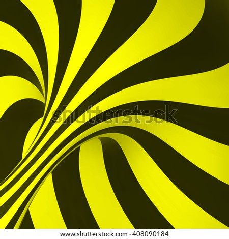 Absttact Striped Background. 3D Vector Illustration. - stock vector
