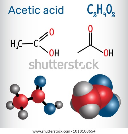 acetic acid molecular formula and molecular Hc2h3o2 or ch3cooh is the formula for acetic acid also known as vinegar acetic acid generally consists of about 5-10% of the vinegar solution.
