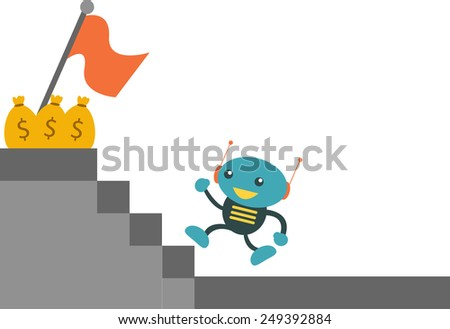 Achievement - stock vector