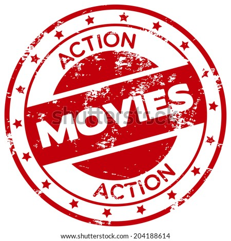 action movies stamp