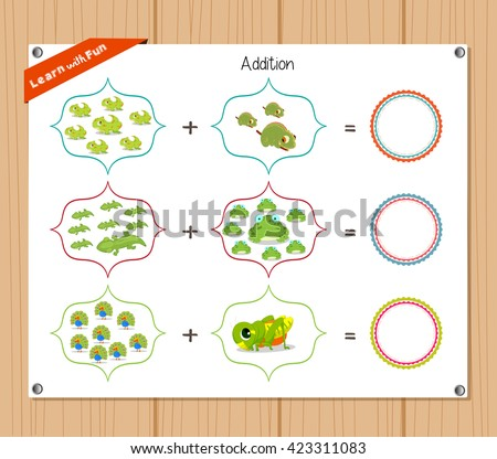 math worksheet : addition stock photos royalty free images  vectors  shutterstock : Vector Addition Worksheets
