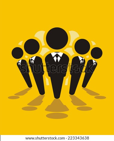 Administration - stock vector