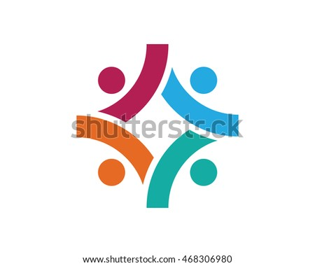 Adoption and community care Logo template