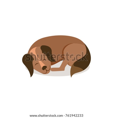 Good Bear Brown Adorable Dog - stock-vector-adorable-dog-with-brown-fur-and-fluffy-tail-curled-up-and-sleep-isolated-cartoon-flat-vector-761942233  Picture_421422  .jpg