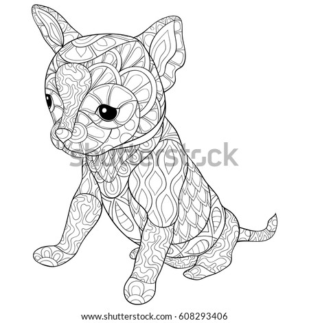 Zen Animal Adult Coloring Book - Worksheet & Coloring Pages