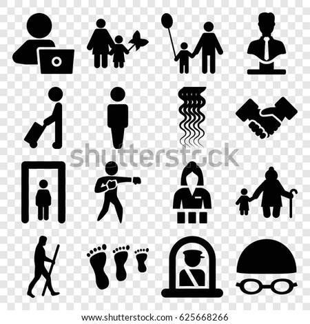 adult icons set set 16 adult stock vector 625668266 shutterstock rh shutterstock com Gate Plans Cartoon Gate