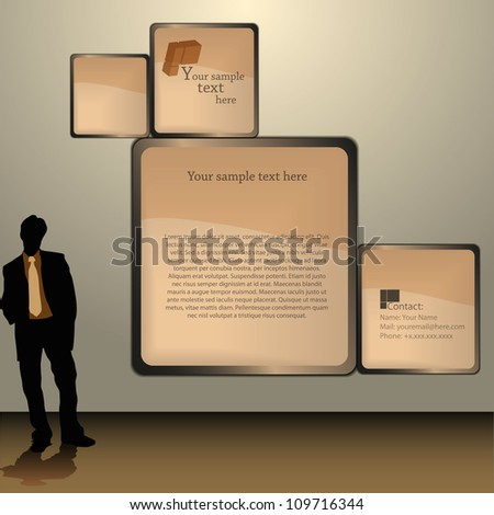 Stock Images similar to ID 50238214 - blank advertising ...