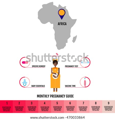 Africa Pregnancy Info graphic