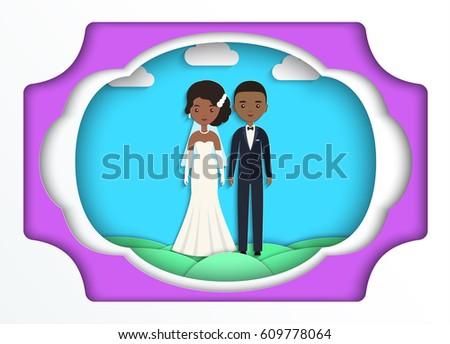 African American Bride Stock Vectors, Images & Vector Art ...