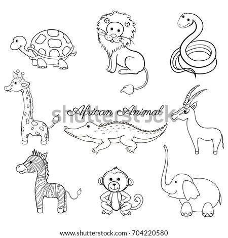 Cartoon Gazelle Stock Images Royalty Free Images