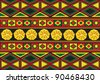 African ornaments - stock vector