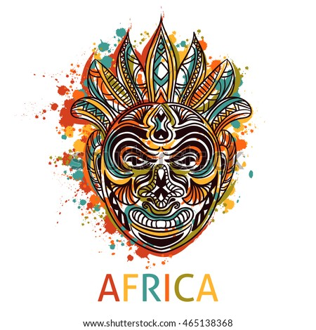 African Mask Stock Images, Royalty-Free Images & Vectors | Shutterstock