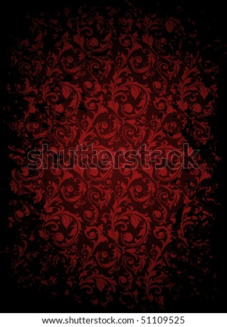 Aged pattern, vector - stock vector