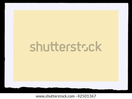 aging photographic bumaga. vector - stock vector
