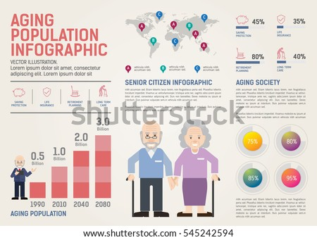 Population Infographic Stock Images Royalty Free Images