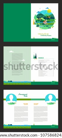 agricultural brochure template - Agriculture Brochure Templates Free