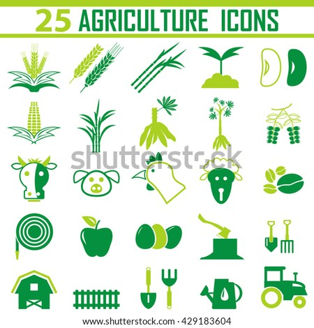 agriculture Icon. - stock vector