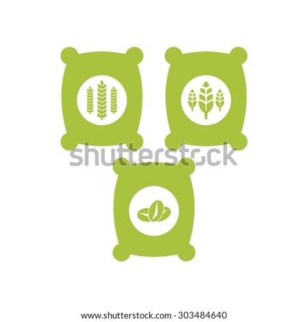 Agriculture Logo Template - stock vector