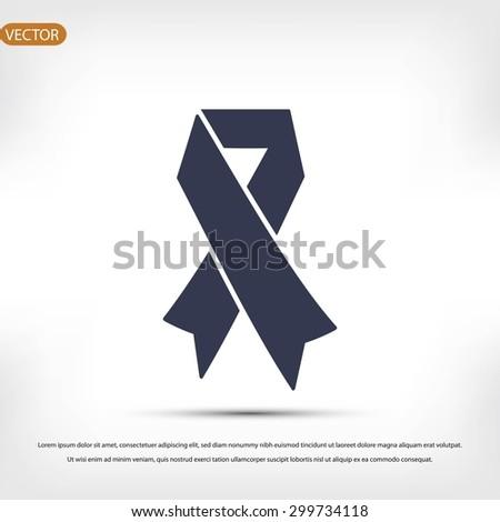 AIDS icon - stock vector