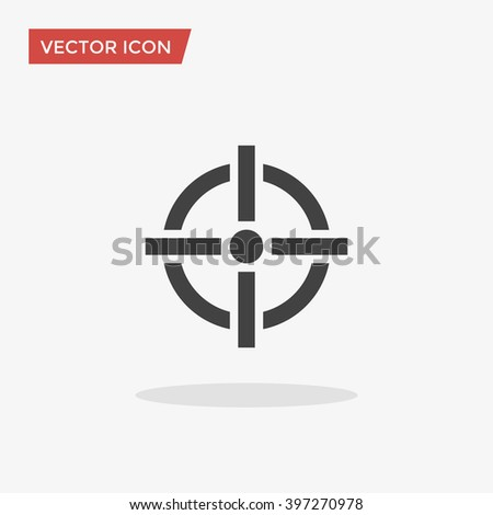 Aim Icon, Aim Icon Vector, Aim Icon Flat, Aim Icon Sign, Aim Icon App, Aim Icon UI, Aim Icon Art, Aim Icon Logo, Aim Icon Web, Aim Icon JPG, Aim Icon JPEG, Aim Icon EPS, Aim icon Image. - stock vector