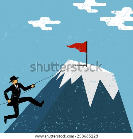 Aiming for success  - stock vector