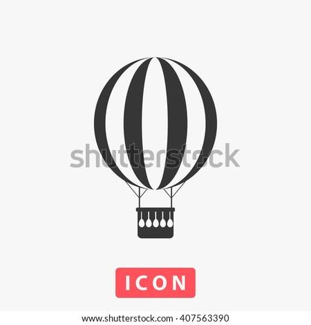 air balloon Icon, air balloon Icon Vector, air balloon Icon Art, air balloon Icon eps, air balloon Icon Image, air balloon Icon logo, air balloon Icon Sign, air balloon icon Flat, air balloon Icon web - stock vector