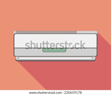 Air conditioner - stock vector
