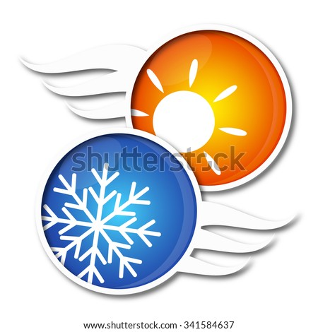 Air Conditioning symbol for business, vector